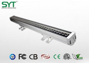 China Epistar 36W RGB LED Wall Washer Light with  IP65 and DMX512 control , Regular or DMX512 on sale