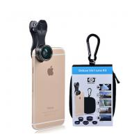 5in 1 Lens Kit Fish Eye Wide Angle Macro Telephoto 2X CPL Clip phone lens for iPhone 6 7 xiaomi mobile phones DG5