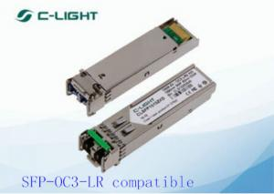 China 1550nm JUNIPER SFP Modules SFP-OC3-LR Compatible For SONET OC-3 LR-2 on sale