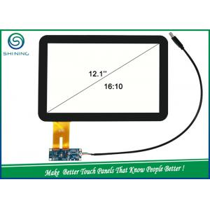 China Ratio 16 To 10 Capacitive Touch Screen 12.1'' With ILI 2302 IC USB Driving Board on sale