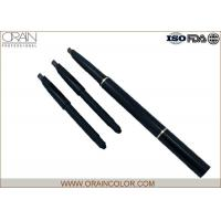 China Permanent Auto Eyebrow Pencil With Brush For Blondes Plastic Body on sale