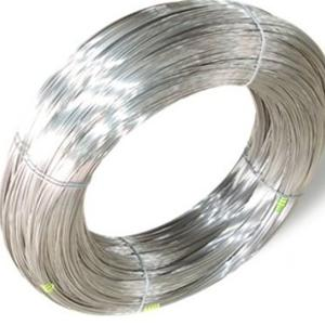 China galvanized steel wire 18# and 19# for fishing net on sale