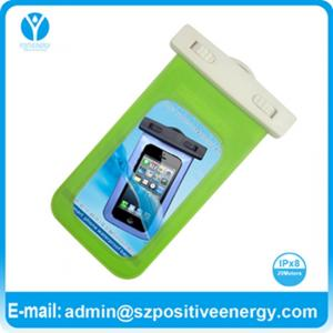 China pvc waterproof bag for mobile phone on sale