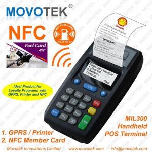 China Movotek Portable GPRS Printer with NFC RFID Card Reader on sale