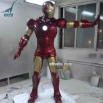 Action Figure Life Size Fiberglass Statue Iron Man for Sale