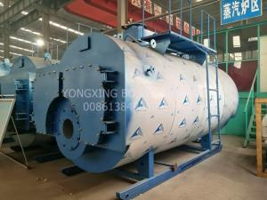 China Quick Heating Low Cost 5.6MW Fast Delivery Gas (oil) Fired Hot Water cheap boilers on sale
