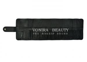 China 17/30/37 Slots Professional Makeup Cosmetic Brush Roll Pouch Pen Pencil Case Bag Crocodile Leather on sale