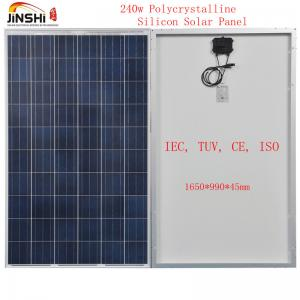 China 240w Multi-crystalline Solar Panel made of 156*156 Solar Cells on sale