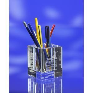 China Fashion crystal pen holder on sale