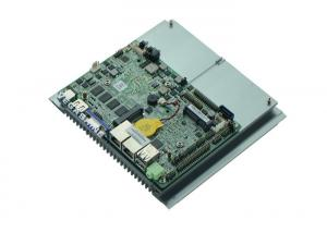 China Fanless 3.5 inch 6 COM , 6 USB Embedded Motherboard integrated 4GB DDR3 with WIFI / 3G on sale