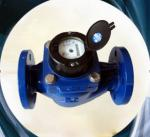 Removable Element Woltman Type Water Meter , Vertical Type Bulk Water Meter