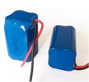 China Powerful 1500mAh Li-ion Battery Packs ICR18650-4S 14.4V , Golf Cart Battery Pack on sale