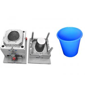 Hot Runner ABS Plastic Bucket Mould High Precision Polishing Performance For Home Appliance