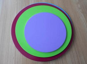 China Temperature Resistant Anodized Aluminum Discs 100-1400mm Diameter For Cookware on sale