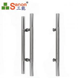 China H Type Stainless Steel Pull Handle Double Side 1.1mm Thickness Polish Surface on sale