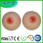 Round Shape Silicone Artificial Fake Breast Boobs For Shemale Crossdresser (400g/pair)