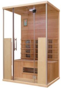China Red Cedar Dry Heat Sauna With Transom Windows For 1 - 8 Person , ROHS CE Certification on sale