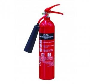 China MED Approval 5kgs CO2 Marine Fire Extinguisher Aluminium Alloy on sale