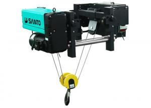 China Dual Speed Electric Wire Rope Hoist 3 T 5 T 10 T 15 T 20 T For Single Girder Crane on sale