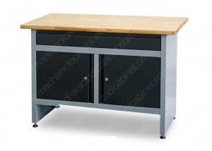 China Classical Garage Storage Printing Cold Steel Tool Cabinet Work Bench on sale