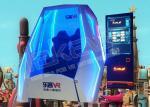 China LEKE THEATER 9D Virtual Reality Simulator / Interactive Virtual Reality Motion Simulator wholesale