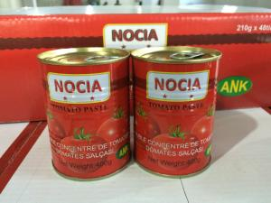 China FDA,GMP,HACCP,IFS,ISO,KOSHER,QS Certification and Pasty Form  brix 28-30% canned tomato paste 400g on sale