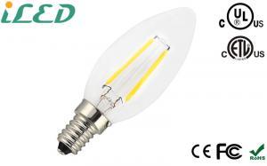 China E12 E14 E17 E26 E27 Decorative Filament Light Bulbs Bright White Dimmable on sale