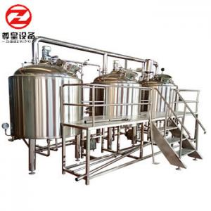 China Full-automatic turn-key brew house system brewery equipment wine equipment on sale