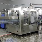 cadena de producción de relleno de la bebida carbónica