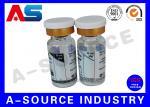 O tubo de ensaio farmacêutico removível da garrafa 10ml etiqueta a impressão do holograma