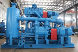 China Industrial  Liquid Ring Vacuum Pump Booster System Higher Vacuum Higher Suction Capacity on sale