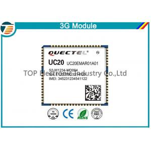 China QUECTEL Wireless Communication 3G UMTS HSPA+ Module UC20 LCC Package on sale