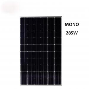 China Solar photovoltaic products 335W Mono Solar Panel Applied in Industrial and Commercial Rooftops Low Price for sale on sale