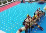 China Easy Install Modular Kindergarten Flooring Durable No Mud Anti Bulging wholesale