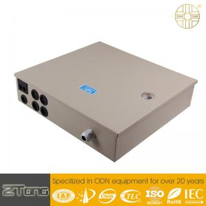 China Durable Fiber Optic Distribution Box With Cable Fixing Device / Fiber Splice Tray on sale