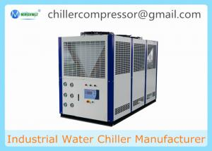 China -10C Low Temperature Scroll Type Air Cooled Glycol Chiller for Horizontal Mixer on sale