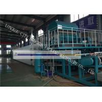 Chicken Farm Egg Box Making Machine , Egg Carton Machine Big Capacity