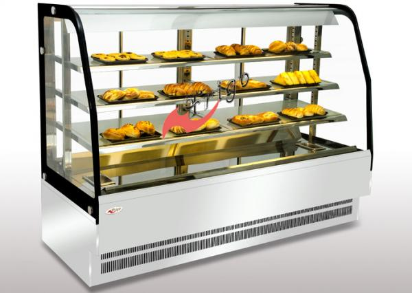 bakery food display showcase curved warming showcase closed type 3 rh commercialfoodequipment sell everychina com