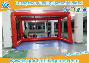 China Air tighted inflatable football goal post , giant bubble football goal posts sport games on sale
