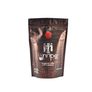 China 250 Gram 500gram Plastic Pouches Packaging , Multiple Color Stand Up Coffee Pouches on sale