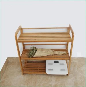China Modern Appearance Bamboo Home Furniture Natural Bamboo Shoe Rack FDA Approved on sale