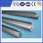 Профиль штейнового алюминиевого анода алюминиевый для солнечной закавыченной по весу алюминиевой цены профиля