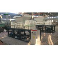 High Output Double Shaft Shredder Machine Waste Plastic Automatic Crusher