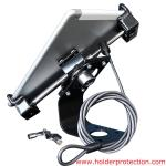 COMER Aluminium Tablet PC security display holder with lock for pad2/3/4