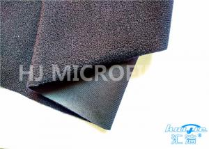 China Matt Black Strong Adhesive loop nylon fabric Cloth For Home Appliance on sale
