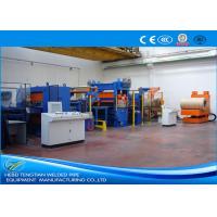 HRC Steel Cut To Length Line Speed 40m / Min Heavy Duty Custmized Design