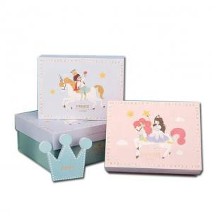 China Paperboard Baby Dress Gift Box , Recyclable Custom Garment Boxes on sale