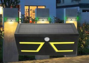 China Wall Hanging Smart Solar Lights With Motion Sensor , COB 6000K Leds on sale