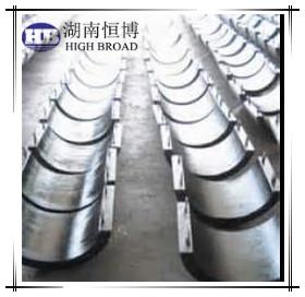 China Aluminum anti corrosion anode supplier