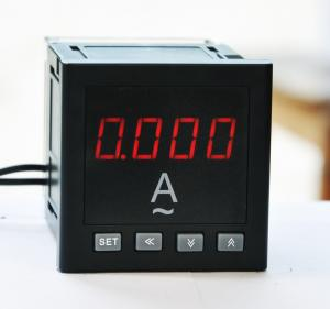 China DC 220v Marine Digital Panel Ammeter 4-20ma Output Low Power Consumption on sale
